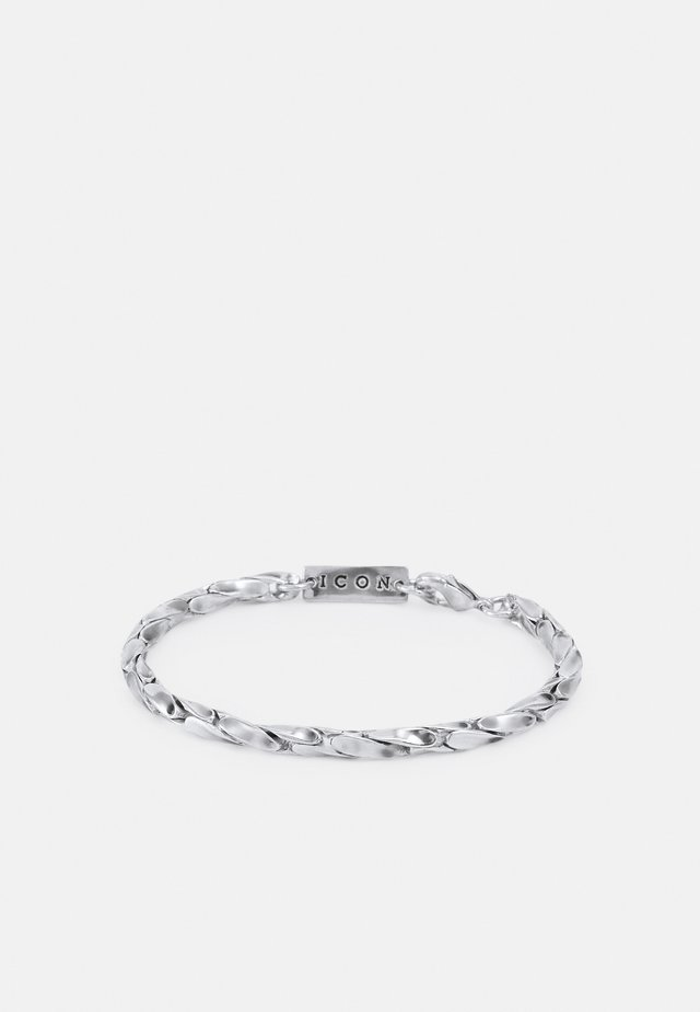 TORRENT CHAIN BRACELET - Bracciale - silver-coloured