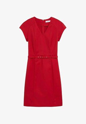 COFI7-N - Koktejlové šaty/ šaty na párty - rot