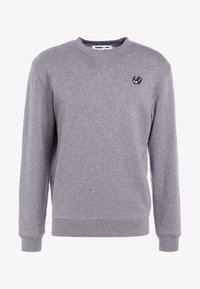 McQ Alexander McQueen - COVERLOCK - Sweater - stone gray melange - 4