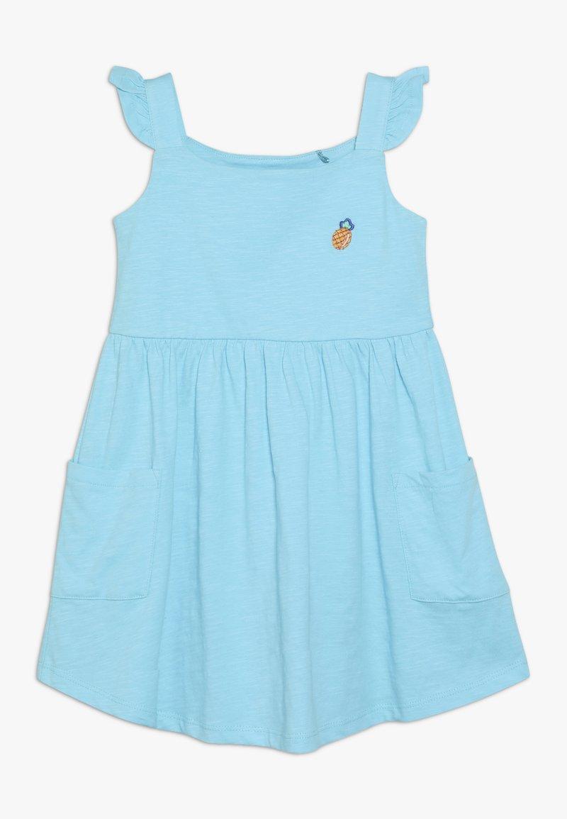Lemon Beret - SMALL GIRLS DRESS - Žerzejové šaty - turquoise
