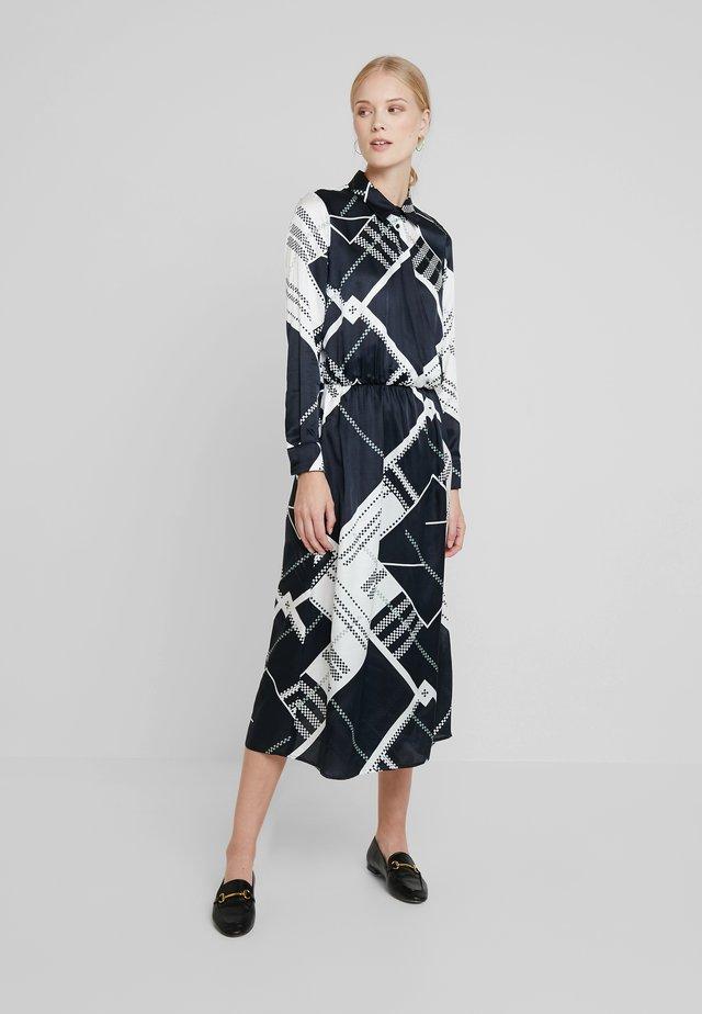 DRESS MODERN WRAP DETAIL - Vestito estivo - white