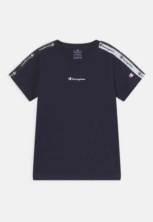 AMERICAN TAPE CREWNECK - Camiseta estampada - navy