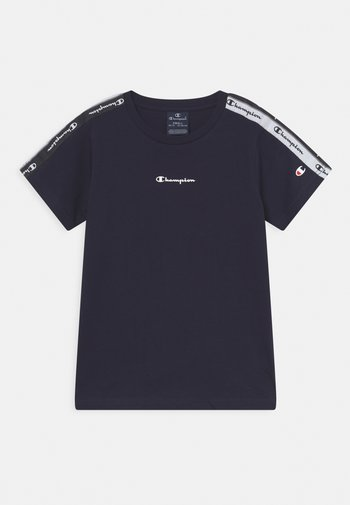 AMERICAN TAPE CREWNECK - T-shirt con stampa - navy