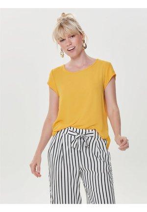 ONLVIC SOLID  - Camiseta estampada - yellow