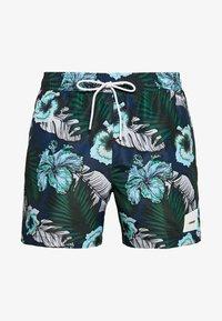 Calvin Klein Swimwear - MEDIUM DRAWSTRING PRINT - Surfshorts - blue - 2