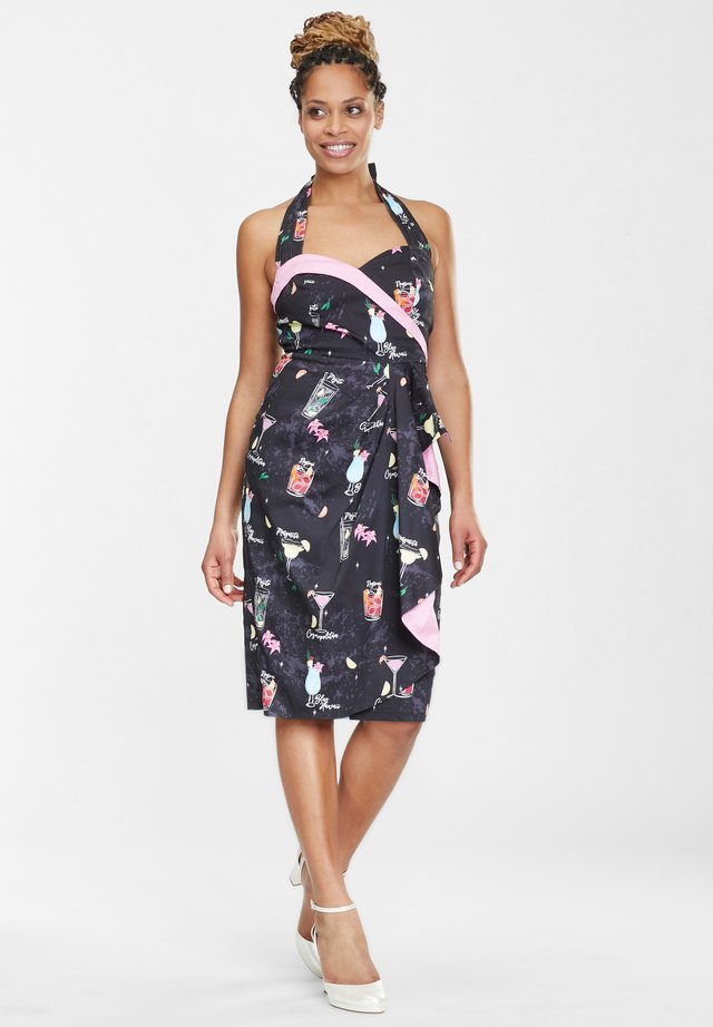 Cocktail dress / Party dress - multicoloured