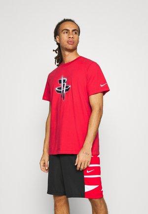 NBA HOUSTON ROCKETS LOGO TEE - T-shirt print - university red