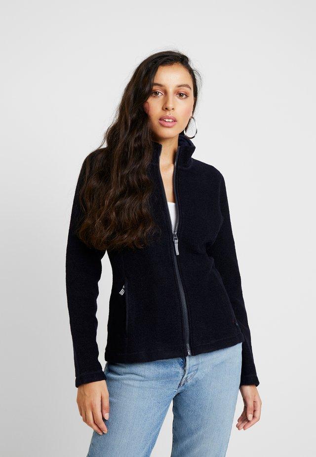 CLAUDETTE - Fleece jacket - navy