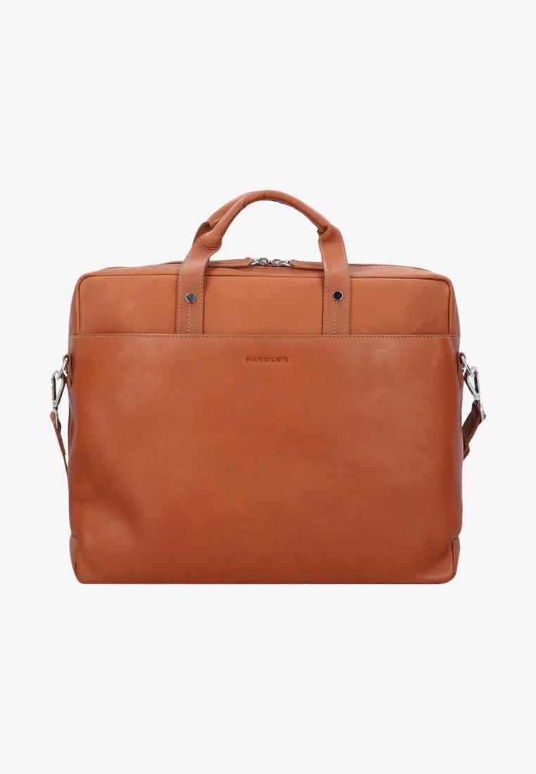 Harold's - HERITAGE - Briefcase - cognac