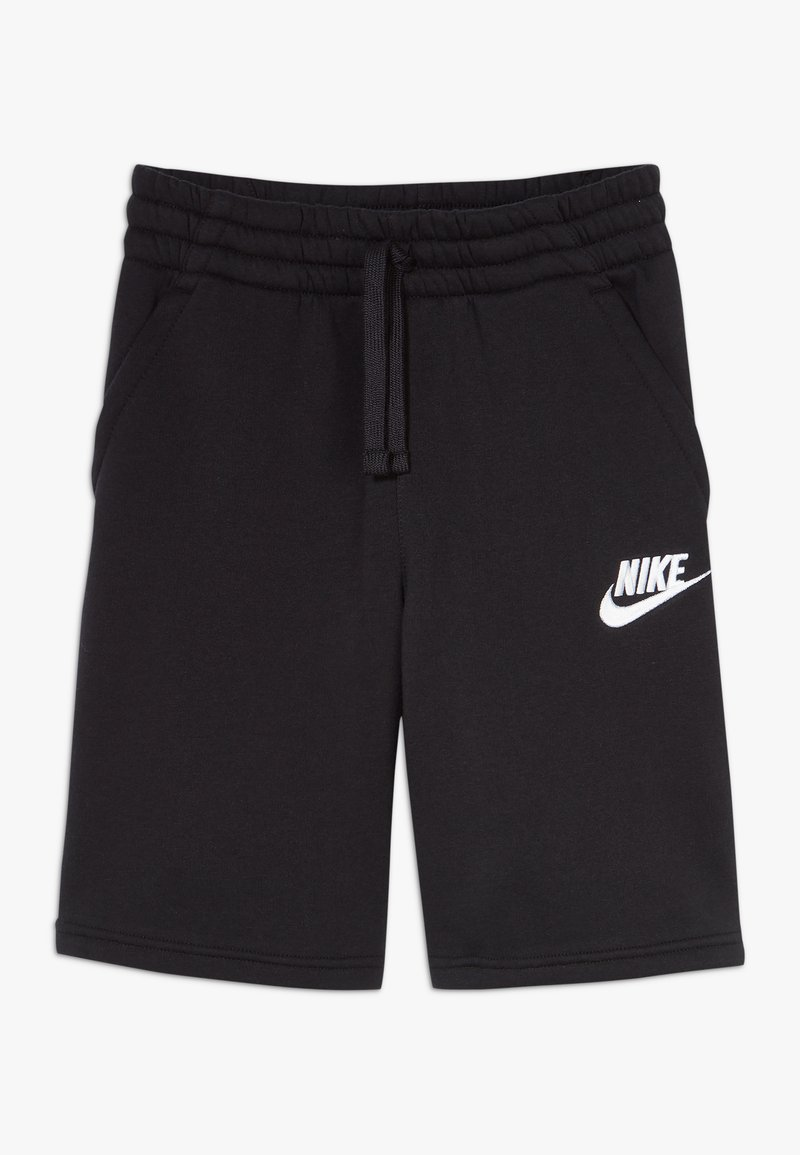 Nike Sportswear - CLUB SHORT - Shorts - black/black/white