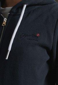 Superdry - ORANGE LABEL ZIP HOODIE - Zip-up hoodie - eclipse navy - 3