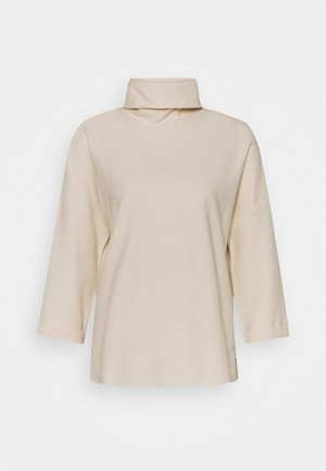 TURTLE NECK - Long sleeved top - soft creme beige