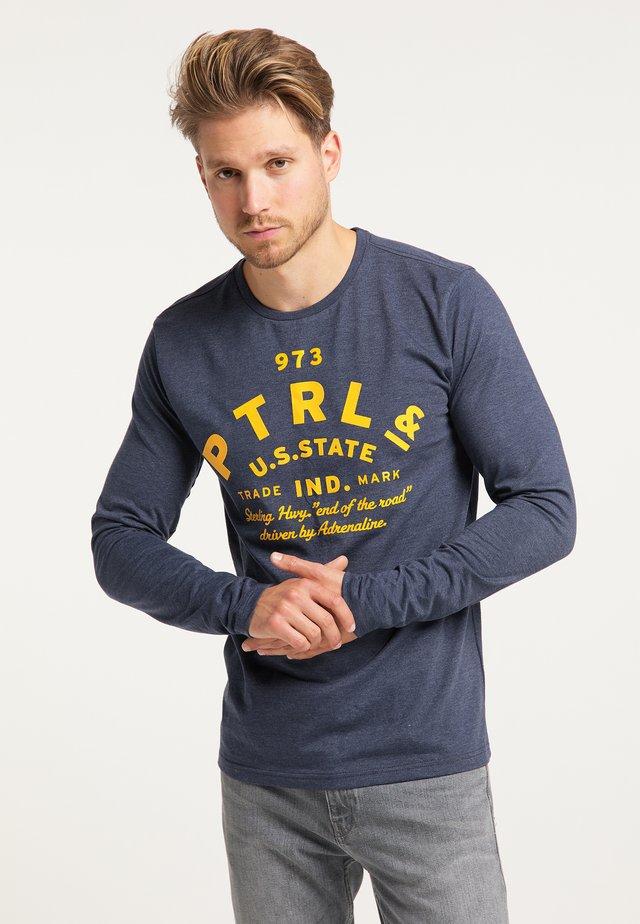 T-shirt à manches longues - petrol blue