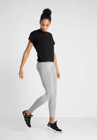 Cotton On Body - ACTIVE CORE - Punčochy - mid grey marle - 1