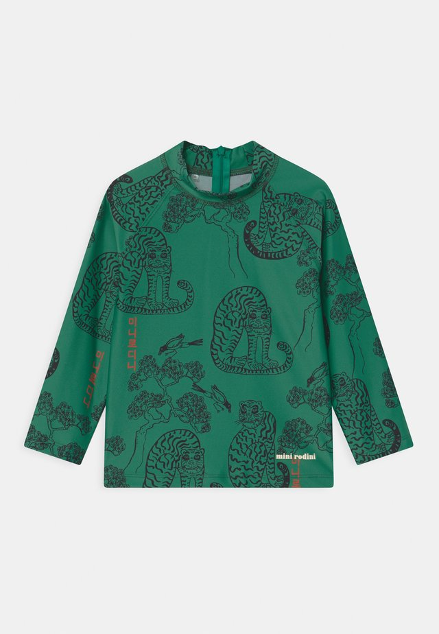 TIGERS UNISEX - Surfshirt - green