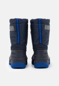 CMP - AHTO WP UNISEX - Winter boots - black blue/royal - 2