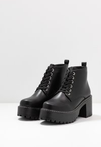 Koi Footwear - VEGAN DL2 - Kotníková obuv - black - 4
