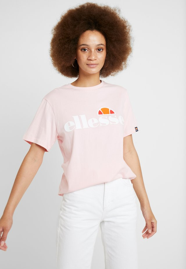 ALBANY - Print T-shirt - light pink