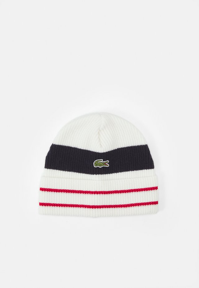UNISEX - Bonnet - flour/red