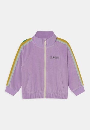 UNISEX - Zip-up sweatshirt - purple