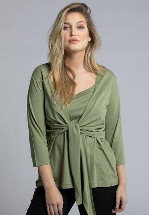 Blouse - teichgrün