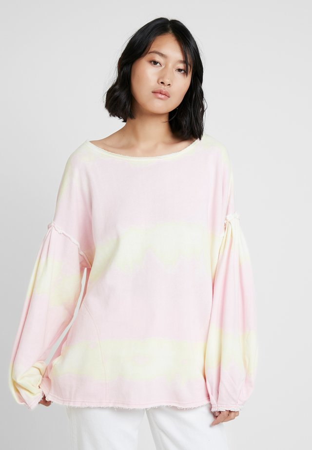 FEELS RIGHT - Sweatshirt - pink