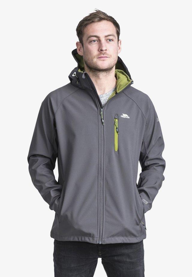NIDER - Soft shell jacket - carbon