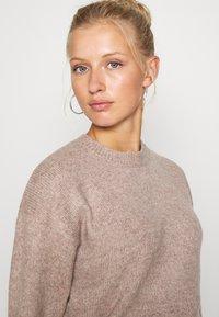 New Look - CROP - Sweter - mid pink - 3