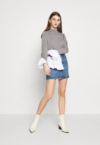 Topshop - Denimová sukně - blue denim - 1