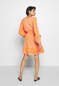 CECILIE copenhagen - LIV - Day dress - tangerine - 2
