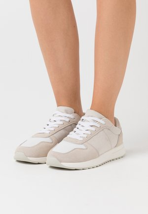 LEATHER - Sneakers - beige