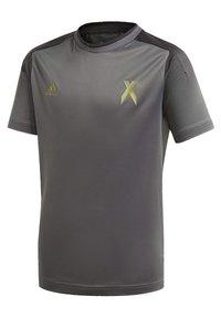 adidas Performance - FOOTBALL INSPIRED X AEROREADY JERSEY - Print T-shirt - grey - 2
