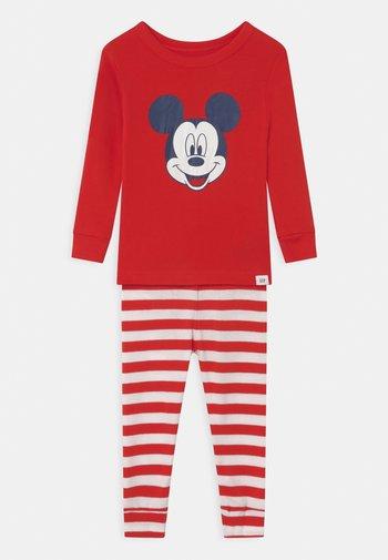 TODDLER BOY MICKEY MOUSE - Pyjama set - killer tomato