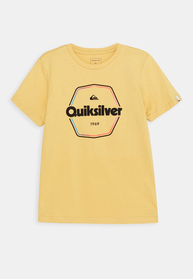 Quiksilver - HARD WIRED  - T-shirt con stampa - rattan