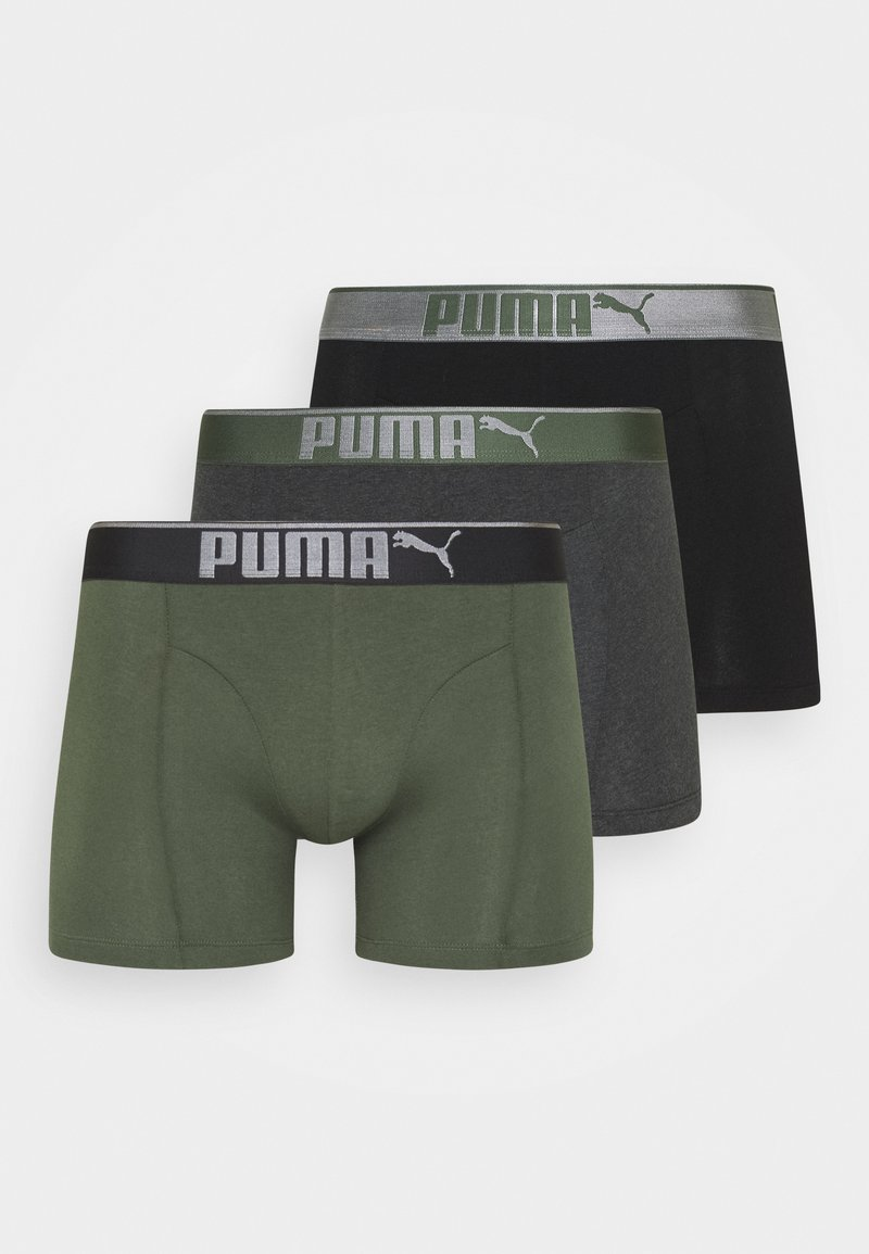 Puma - LIFESTYLE 3 PACK  - Pants - army green