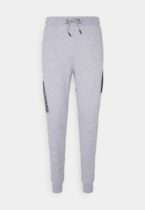 APEX JOGGERS - Tracksuit bottoms - heather grey