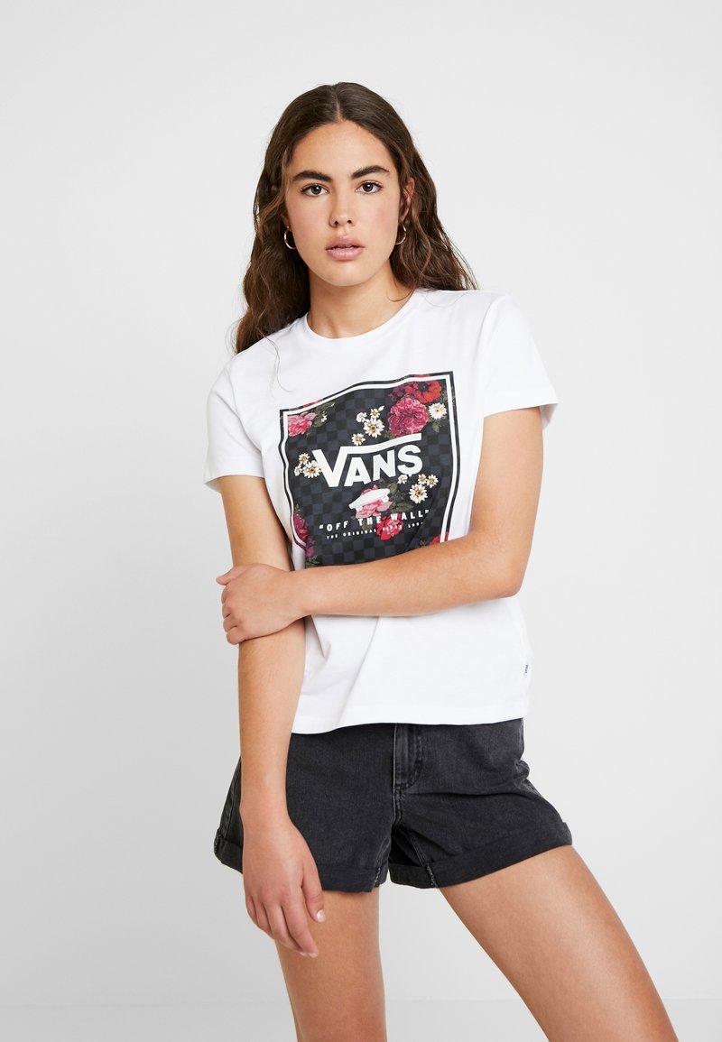 Vans - BOXED BOTANIC - Print T-shirt - white