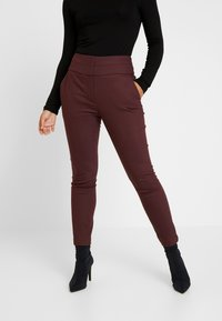 Forever New Petite - GEORGIA PANT - Trousers - wine - 0