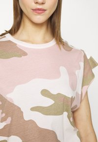 G-Star - GSRAW GYRE KNOT R T WMN CAP SL - Print T-shirt - khaki - 6