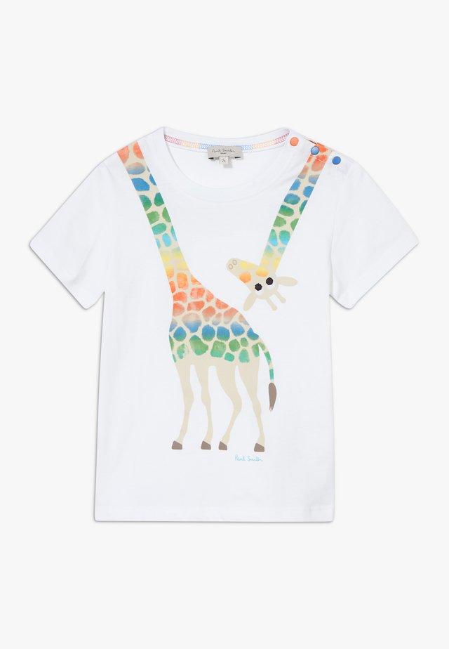 AZICO - T-shirt print - white