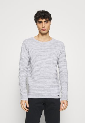 BROADLEY - Strikkegenser - light grey