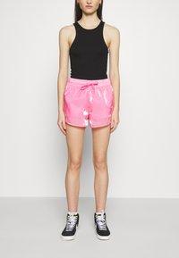 Nike Sportswear - AIR SHEEN - Shorts - pink glow/black - 0