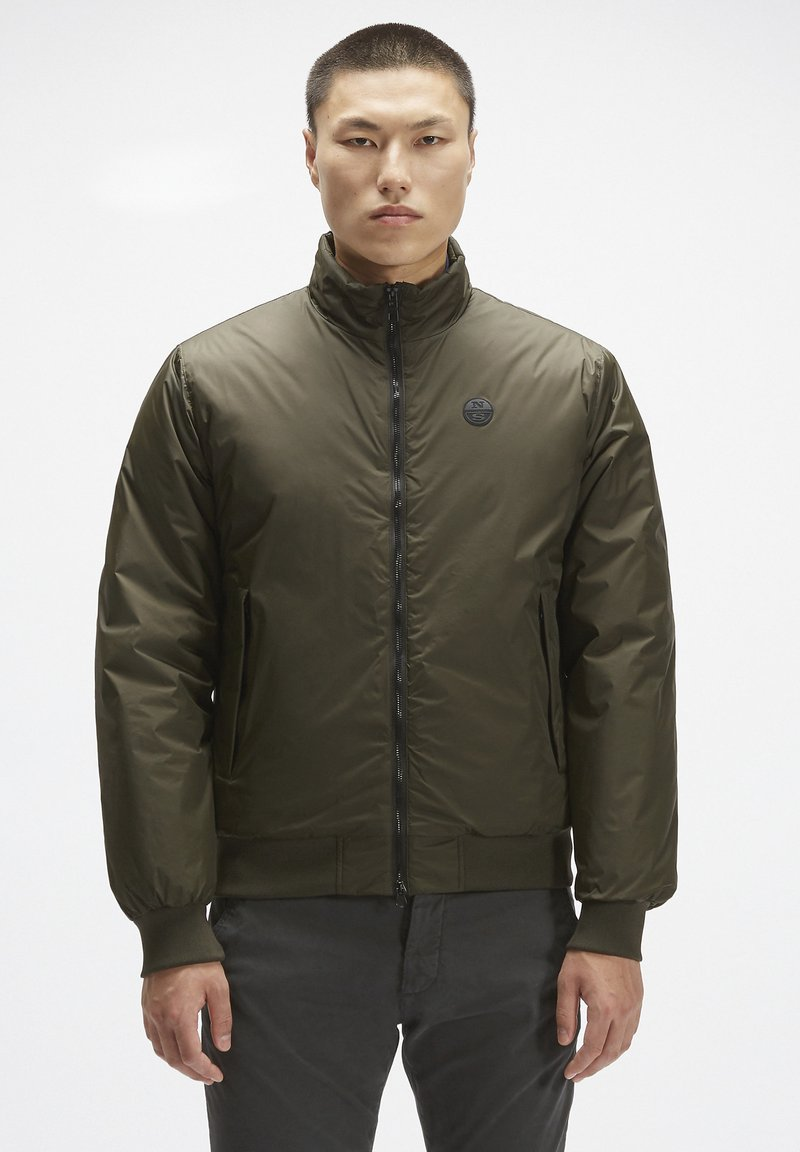 North Sails - Bomber Jacket - forest green