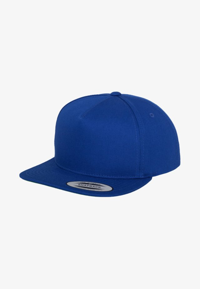 Casquette - royal blue