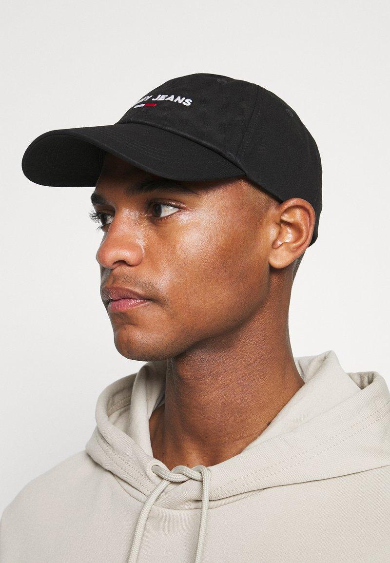 Tommy Jeans - SPORT UNISEX - Cap - black