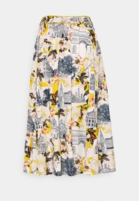 Thought - EL AUDAZ FLARED SKIRT - A-line skirt - lemon yellow - 1