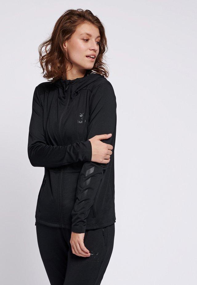 SELBY  - Zip-up hoodie - black