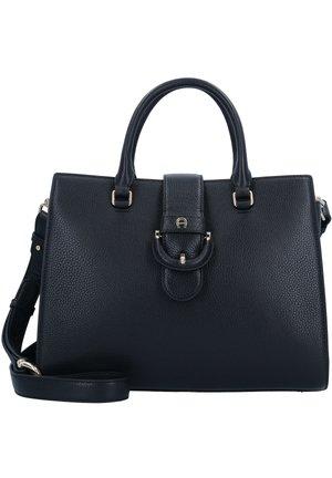 KIRA HENKELTASCHE LEDER 32 CM - Handbag - black