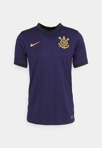 CORINTHIANS SÃO PAULO - Club wear - imperial purple/black/truly gold