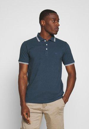 Polo shirt - blue pacific